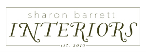 Sharon Barrett Interiors- Nashville, Murfreesboro and Middle Tennessee Interior Designer -Specializing in high end relaxed interiors logo